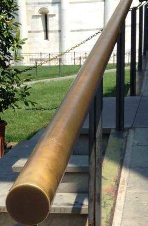 Bronze Handlauf rund außen
