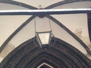 Historische Decken Hängeleuchten an 2 Ketten