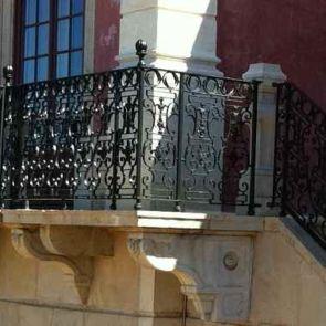 Historisches Treppengeländer