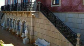 Historisches Treppengeländer und Balkongeländer