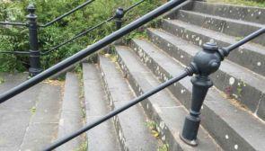 Geniales altes Treppengeländer in Köln