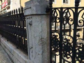 Geschmiedetes Altstadt Geländer