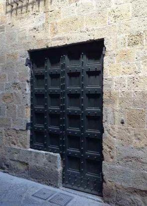Schwere außen Metalltür